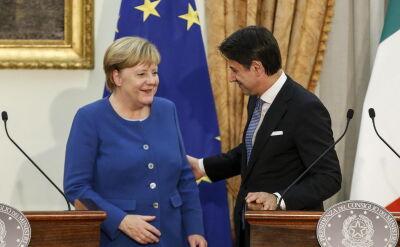 Merkel spotkała się z Conte w Rzymie