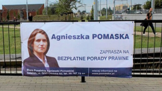 """Posłowie PO mają zdjąć plakaty. """"Musimy być kryształowi"""""""