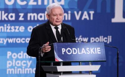 Kaczyński o Morawieckim: przeżywał różne bardzo ciężkie chwile przez swoją aktywność