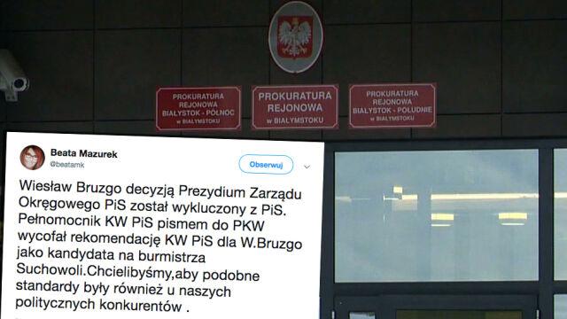 Kandydat na burmistrza Suchowoli wyrzucony z PiS. Za wpisy w mediach społecznościowych