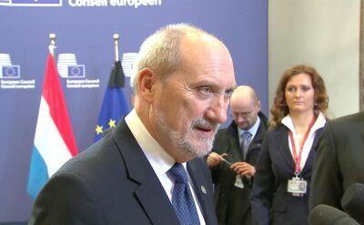 Macierewicz: Polska okaże Francji pełne wsparcie