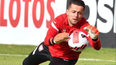 Fabiański trenował z zespołem.