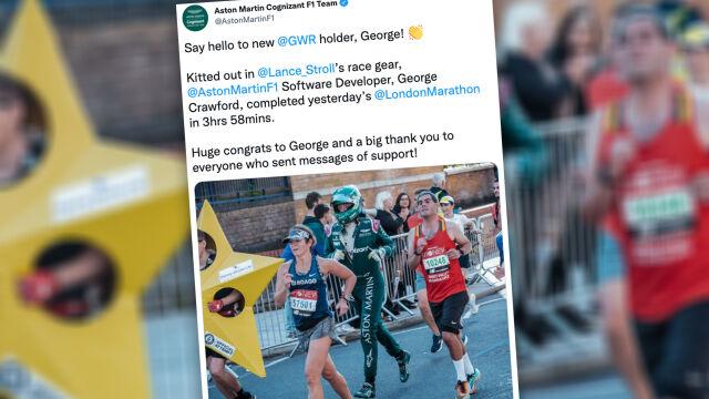Przebiegł maraton w stroju kierowcy Formuły 1. Trafił do Księgi Rekordów Guinnessa