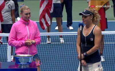 Siegemund i Zwonariowa po triumfie w finale gry podwójnej kobiet w US Open