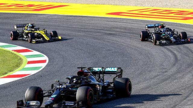 Hamilton triumfuje po raz 90. Szalone Grand Prix Toskanii