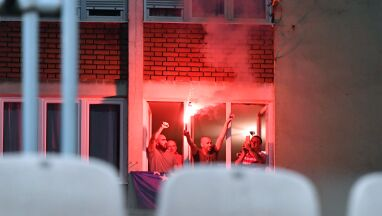 Bośniaccy kibice znaleźli sposób, by obejrzeć mecz z Polską