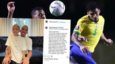 Reprezentant Brazylii ogolił głowę na znak solidarności z synem