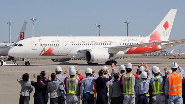 Japończycy trzymają się terminów. Wysłali pusty samolot po ogień olimpijski