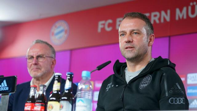 """Bayern przedłużył umowę z Hansim Flickiem. """"Zespół dobrze się rozwinął"""""""