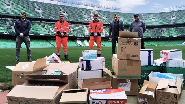 Betis ze wsparciem dla szpitala. Teraz La Liga chce pomóc klubom
