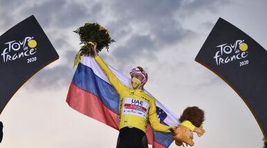 Wyścig Tadeja Pogacara. Młody Słoweniec królem 107. edycji Tour de France