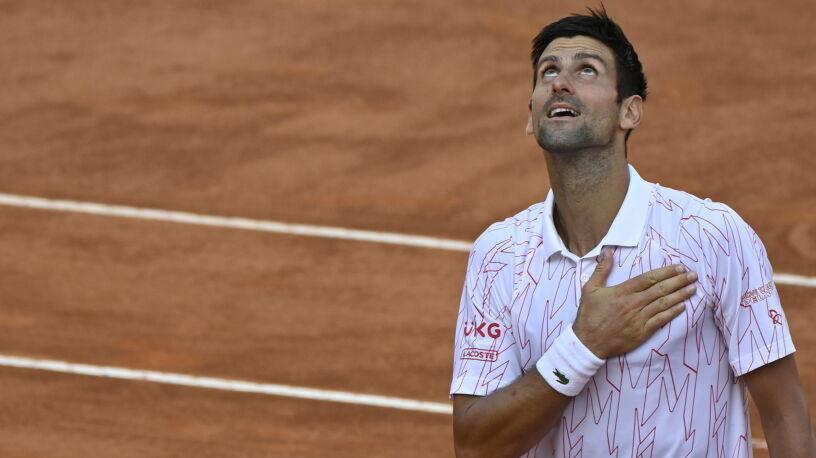 Djoković był w poważnych opałach. Ostatecznie zagra w finale w Rzymie