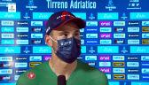 Ganna po wygraniu 8. etapu Tirreno-Adriatico