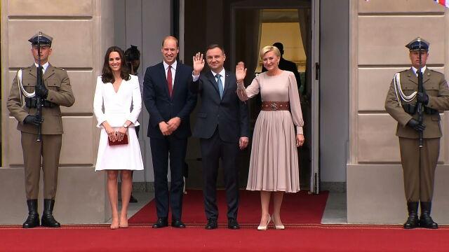 Książę i księżna Cambridge w Polsce