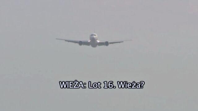 Lądowanie kapitana Wrony