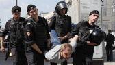 Brutalna akcja policji podczas protestów w Moskwie