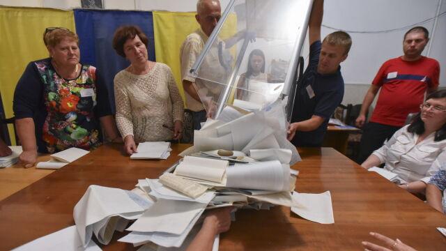 f12967ace9378c Pięć ugrupowań, zdecydowany lider. Na Ukrainie skończyli liczyć głosy