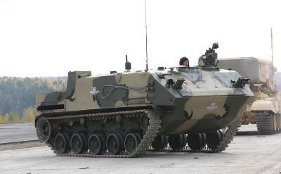 Rosyjskie transportery opancerzone