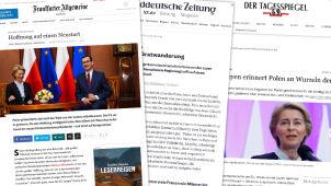 Niemieckie media: Warszawa oczekuje rewanżu za poparcie von der Leyen