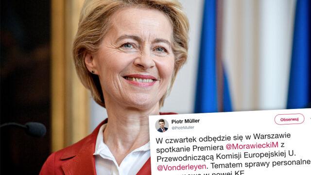 Ursula von der Leyen przyjedzie do Warszawy