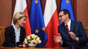 Ursula von der Leyen w Warszawie: będą tematy, co do których pewnie się nie zgodzimy