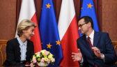 Ursula von der Leyen i Mateusz Morawiecki spotkali się w Warszawie