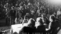 Wywiad z Wojciechem Fibakiem i Björnem Borgiem w Hali Widowiskowo-Sportowej Arena 1978 r.