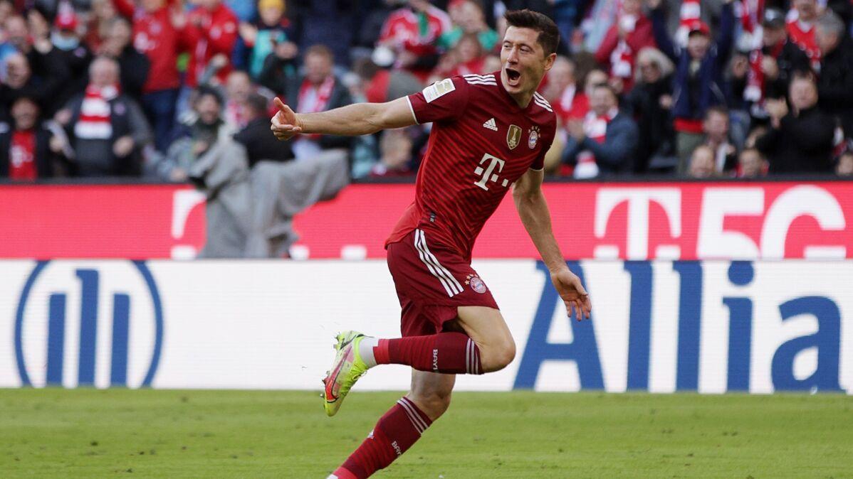Lewandowski wyrównał rekord kariery