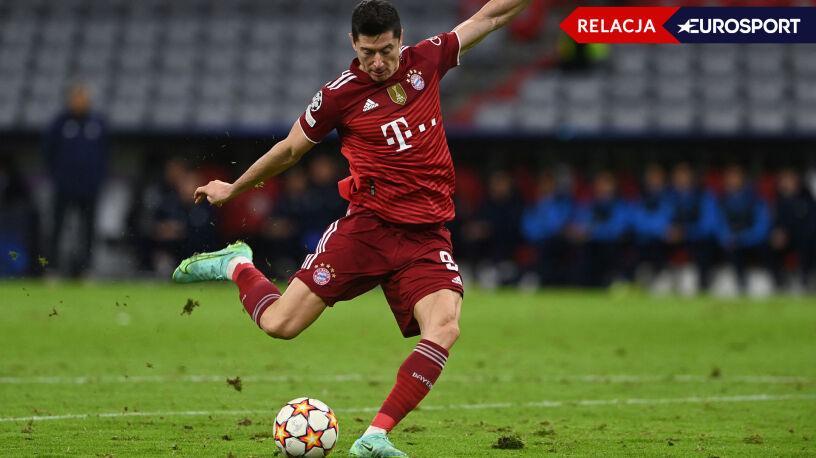Lewandowski i Bayern walczą w Lidze Mistrzów