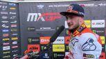 Jeffrey Herlings po zwycięstwie w drugim wyścigu MXGP w Trydencie