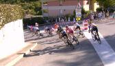 Upadek Daniela Martineza na 2. etapie Tour de France