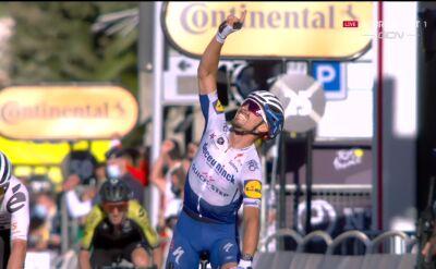 Alaphilippe wygrał 2. etap Tour de France, Van Avermaet czwarty