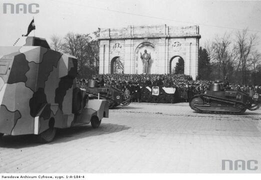Uroczystości imieninowe Józefa Piłsudskiego w Poznaniu w 1933r.