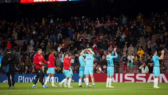"""Gwiazdom Barcelony zabrakło klasy. """"Niektórzy nawet nie podali ręki"""""""