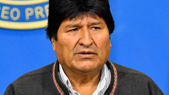 Prezydent Morales zrezygnował