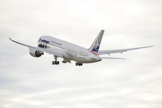 Samolot wystartował do krótkiego lotu testowego