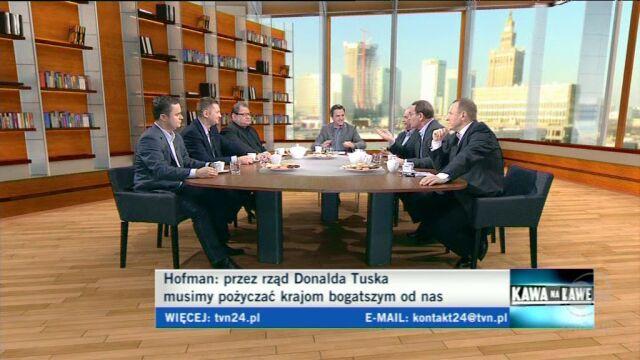 Andrzej Rozenek przekonywał, że szczy to nie sukces Polski (TVN24)