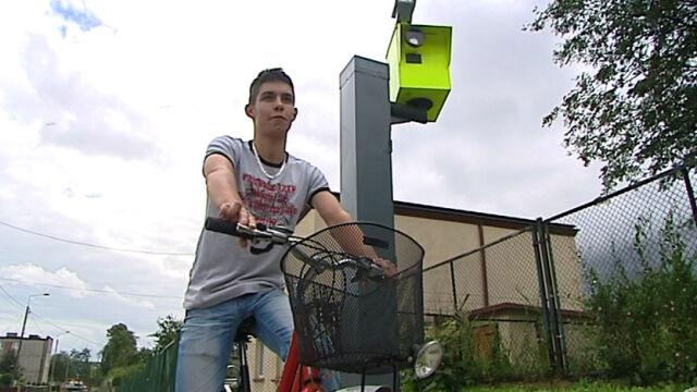Jechał 46 km/h rowerem. Złapał go fotoradar