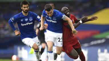 Bez kibiców i bez goli w derbach. Everton postraszył Liverpool