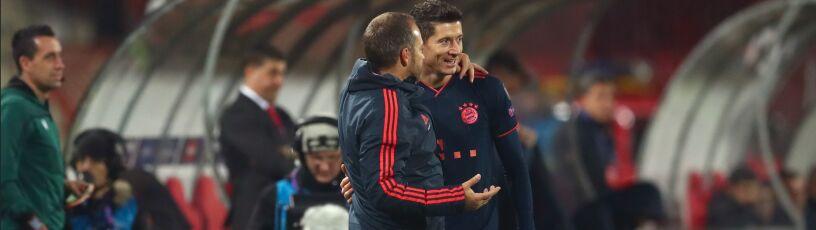 Lewandowski poza kadrą, trener się tłumaczy