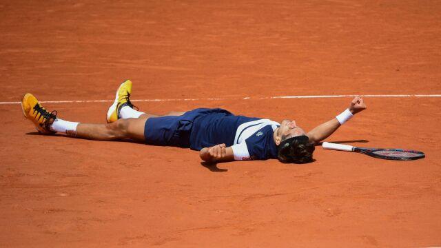 Zacięta wymiana najefektowniejsza. Pięć najlepszych akcji drugiego dnia French Open