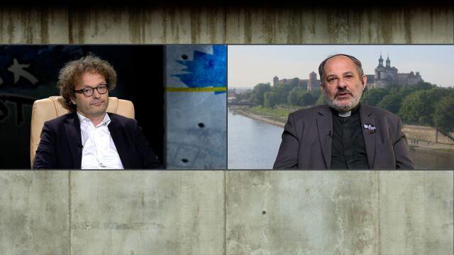 """prof. Tadeusz Bartoś i ks. Tadeusz Isakowicz-Zaleski w """"Tak Jest"""""""