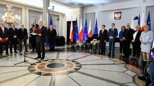Wręczenie zaświadczeń o wyborze na europosłów. Biedronia, Belki i kilkorga innych nie było