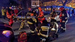 Dwie kobiety przechodziły przez pasy, wpadły pod koła auta