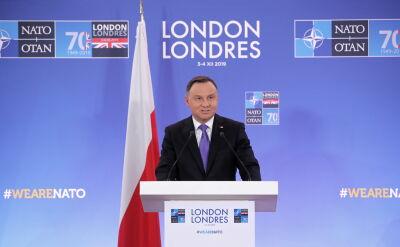 Andrzej Duda o rozmowie z Emmanuelem Macronem