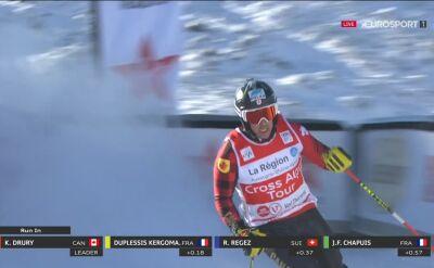 Drury pierwszy w skicrossie w Val Thorens