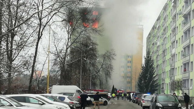 Wybuch gazu w bloku mieszkalnym. Są ofiary śmiertelne