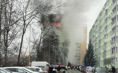 Wybuch gazu w bloku mieszkalnym w Preszowie na Słowacji