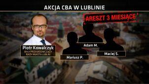 Aresztowania w związku z budową wieżowca w Lublinie