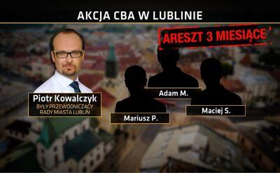 Areszt dla czterech osób w związku z budową wieżowca w Lublinie